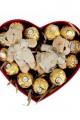 Sevgiliye Özel Ferrero Rocher Yılbaşı Hediye Kutusu