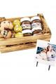 Sevgiliye Özel Nutella Ferrero Rocher Sevimli Hediye Ağaç Sepet