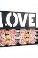 Nutella Ferrero Dolu Ahşap Love Kutulu Lüx Hediye